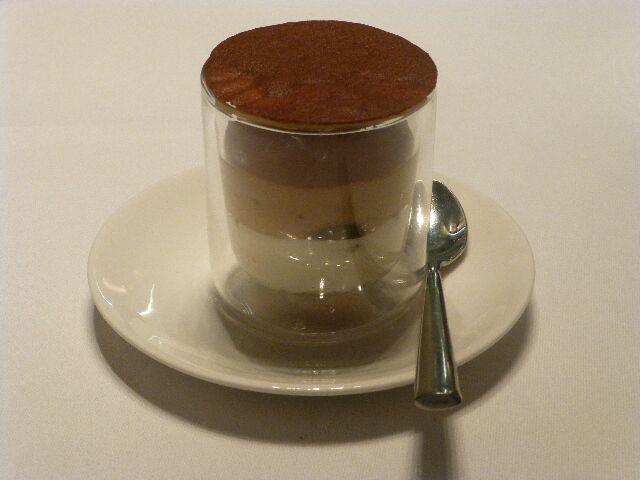Mascarpone café amande ©DC