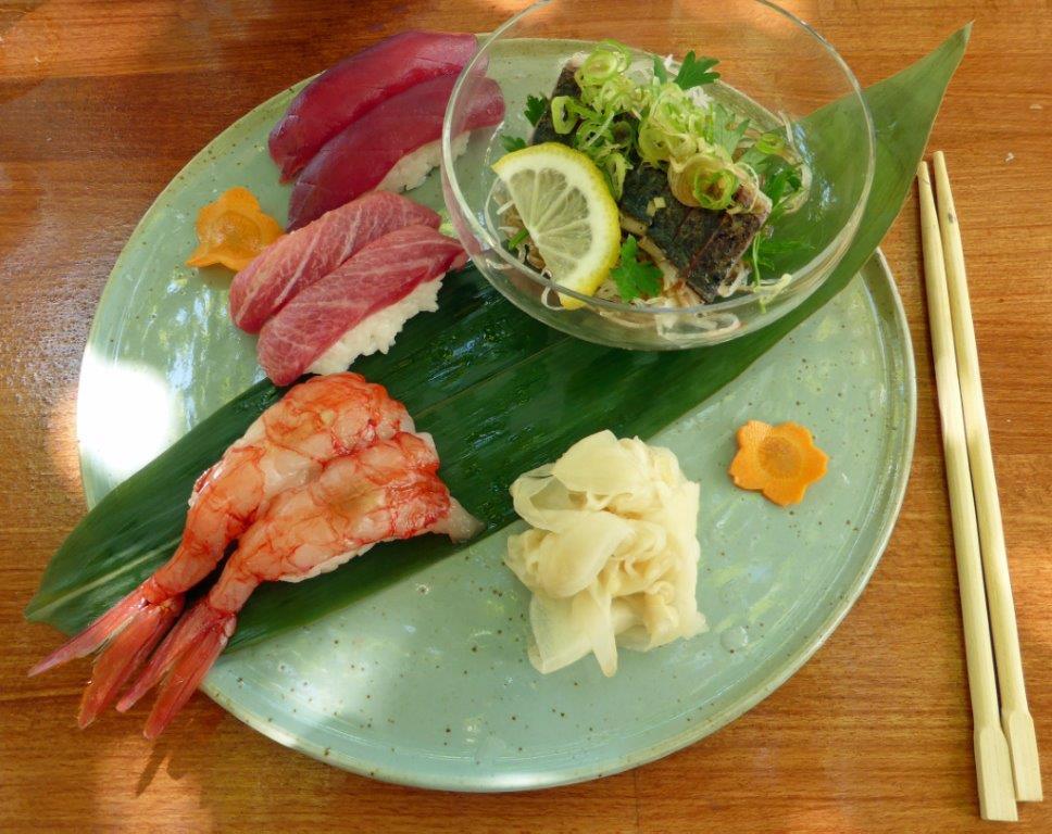 Sushi et sashimi ©AA