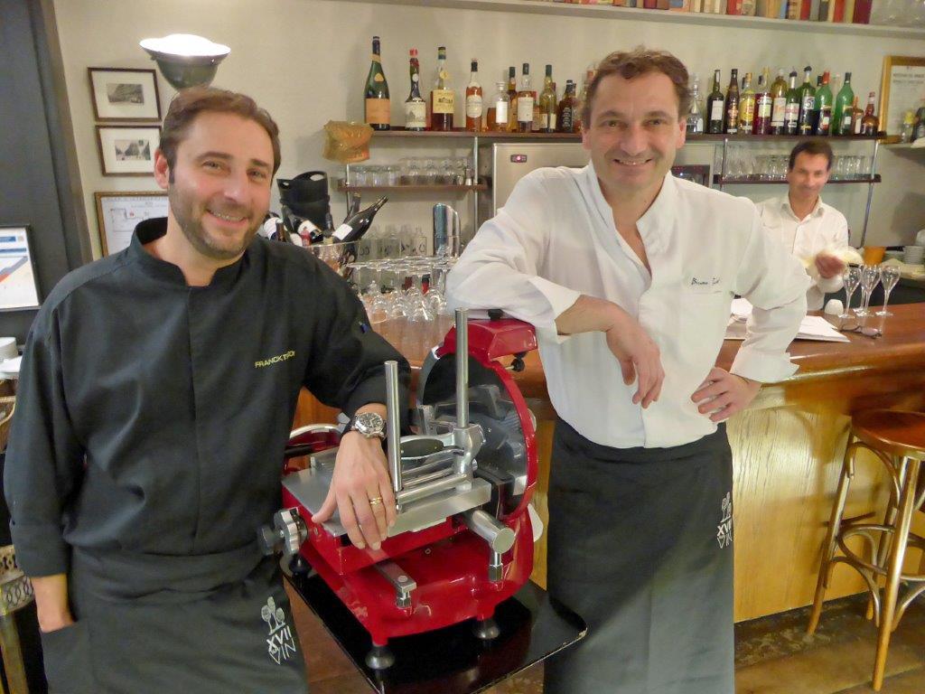Franck et Bruno © AA