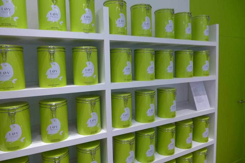 Les pots de thé ©GP