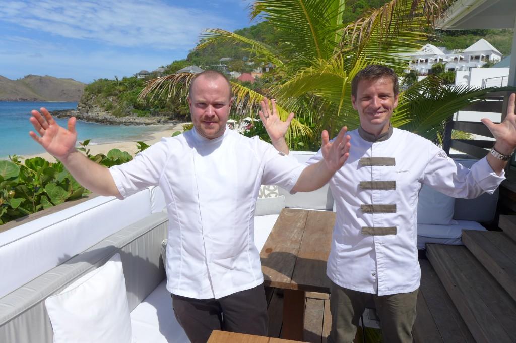 Daniel Berlin et Yannick Vinsot à la Case de l'Isle © GP