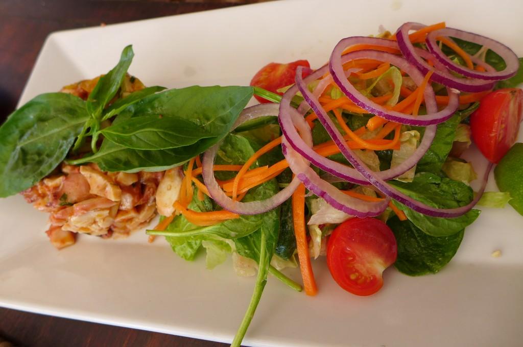 Salade de poulpe © GP
