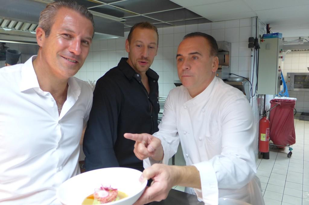 Fabrice Moizan, Eric Desbordes, Jean-Georges Vongerichten © GP