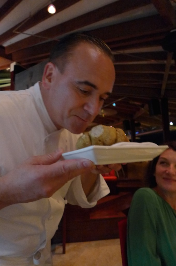 Jean-Georges et la truffe blanche ©GP