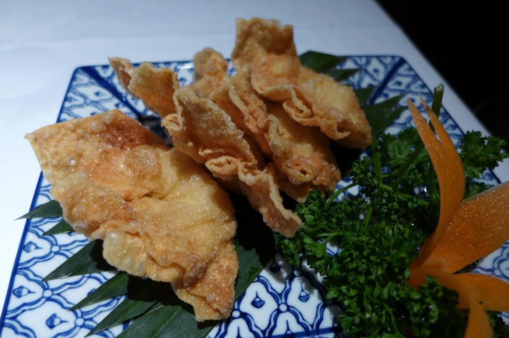 Ravioli frits de crevettes © GP