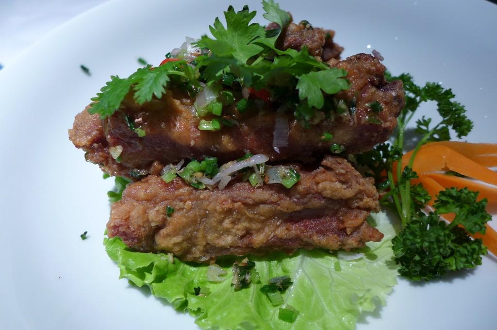 Travers de porc poivre et sel © GP