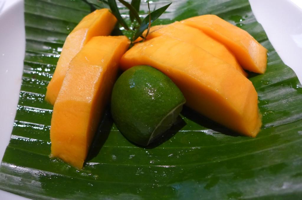 Mangue fraiche © GP