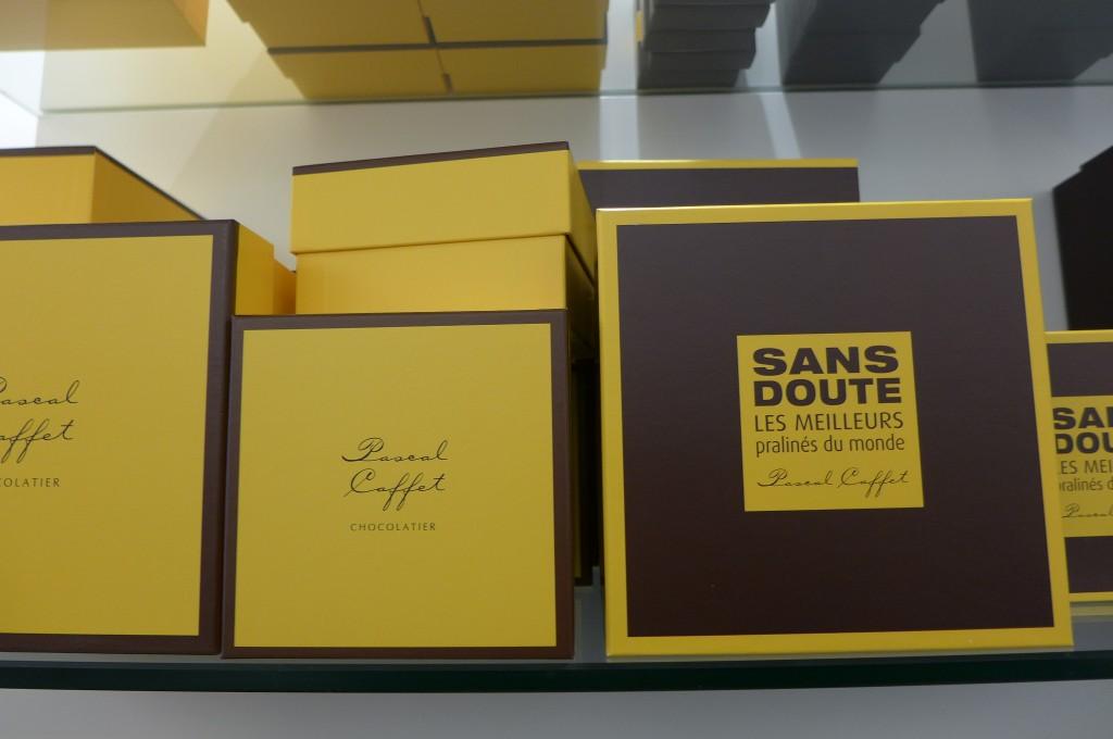 Les boîtes de pralinés © GP