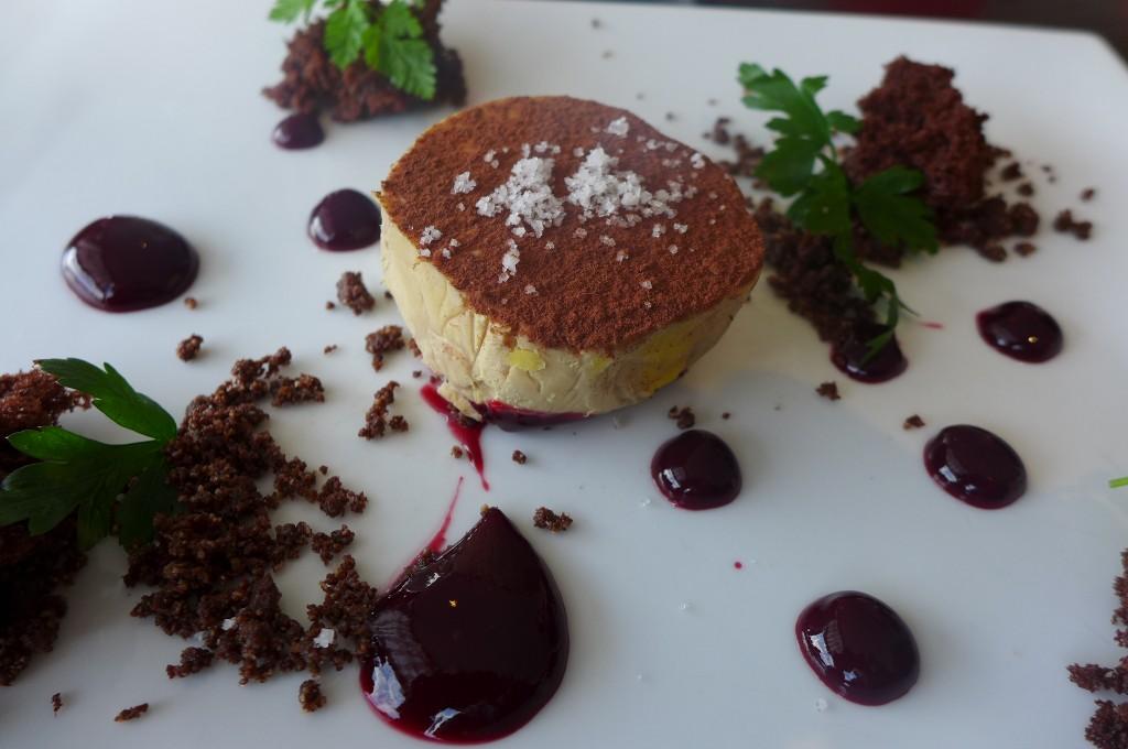 Foie gras au chocolat ©GP