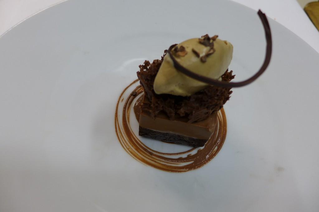 """La """"légèreté""""au chocolat et glace Guinness © GP"""