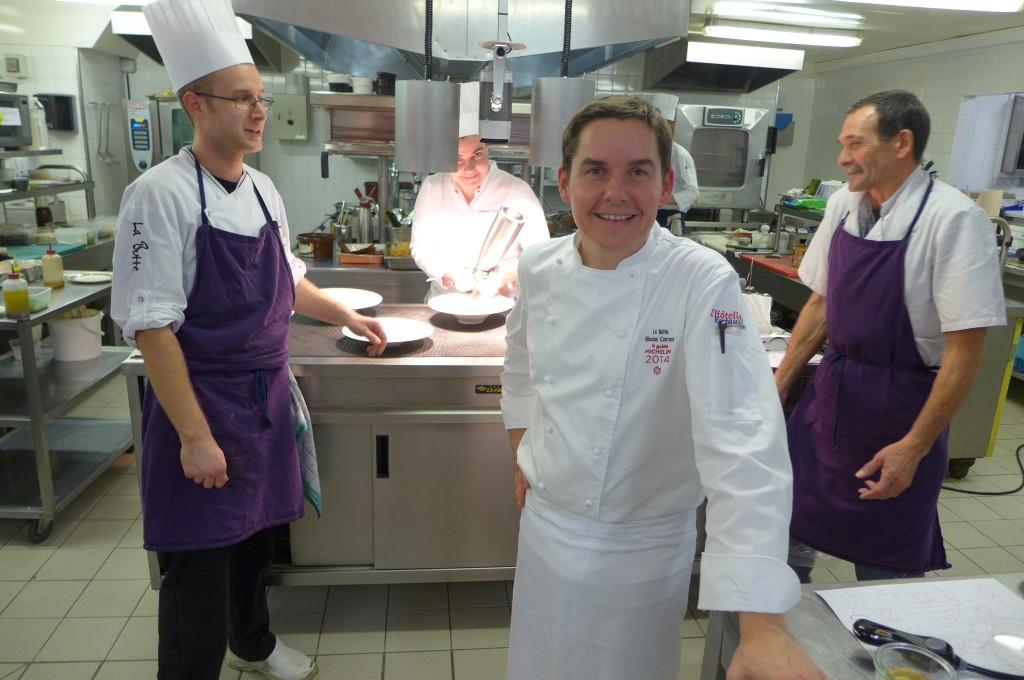Nicolas Conraux en cuisine © GP