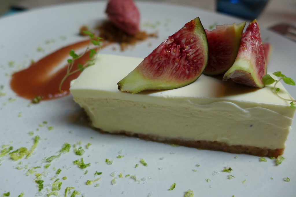 Cheese-cake aux figues © GP
