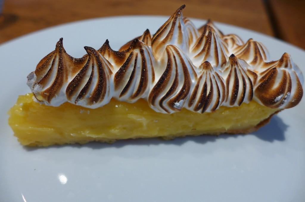 Tarte meringuée au citron © GP