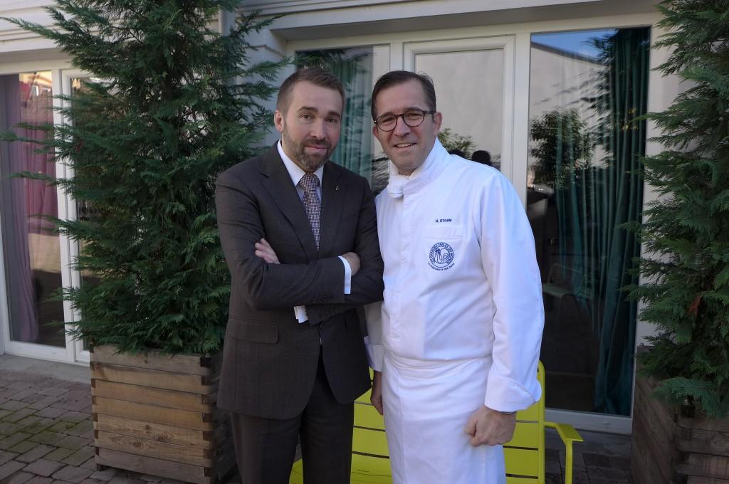 Serge Schaal et Nicolas Stamm © GP
