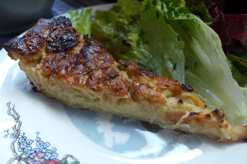 Demie-tarte à l'oignon © GP