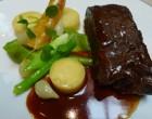 Faux-filet sauce poivrade © GP
