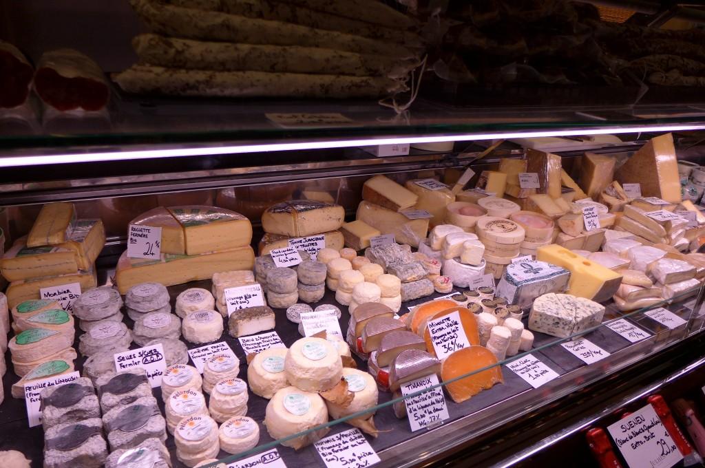 Choix de fromages ©GP