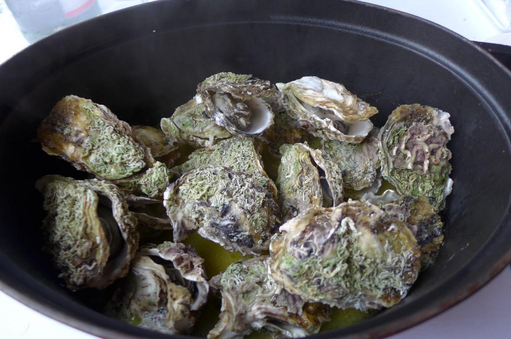 Huîtres marinière © GP