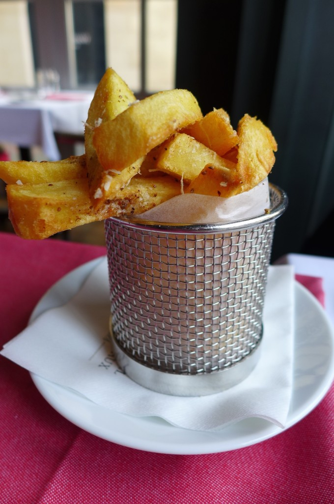 ...et frites ! © GP