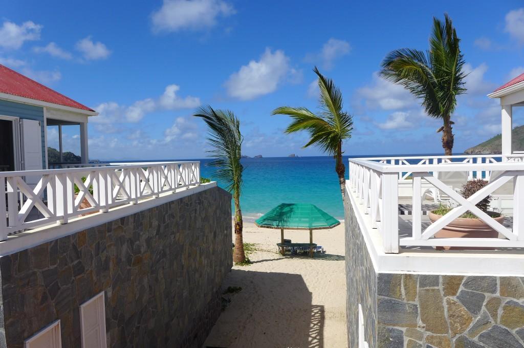 Vu de l'hôtel Baie des Anges © GP