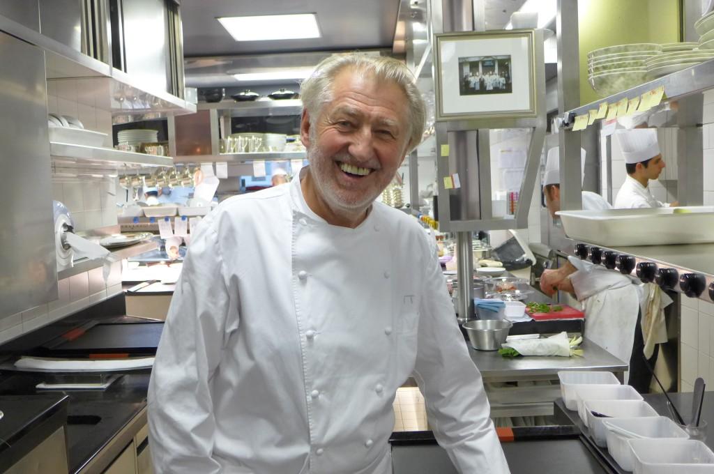 Pierre Gagnaire en cuisine © GP