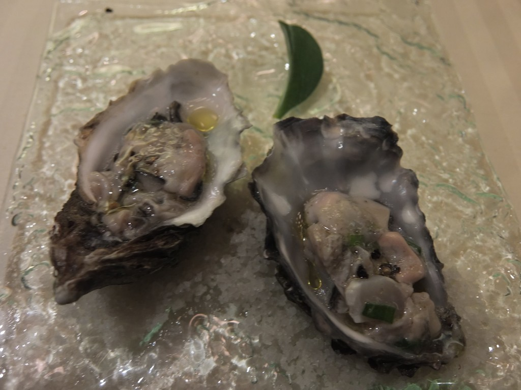 Huîtres en nage glacée © GP