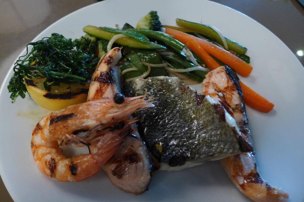Mix grill de poissons © GP