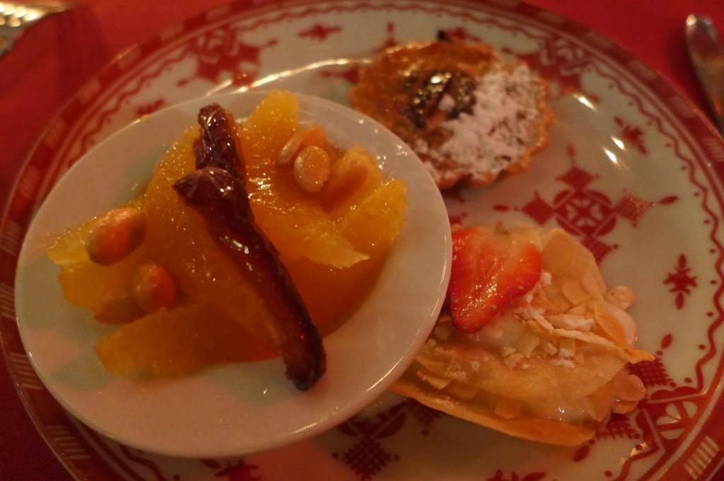 Trio de desserts © GP