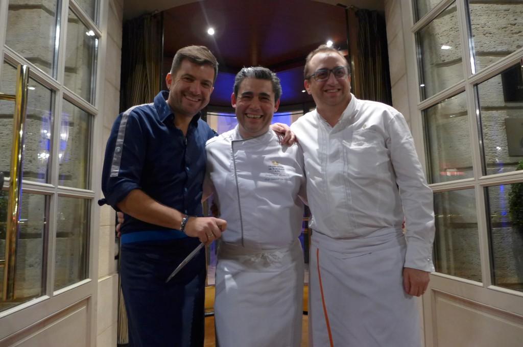 Eric, Stéphane, Lionel © GP