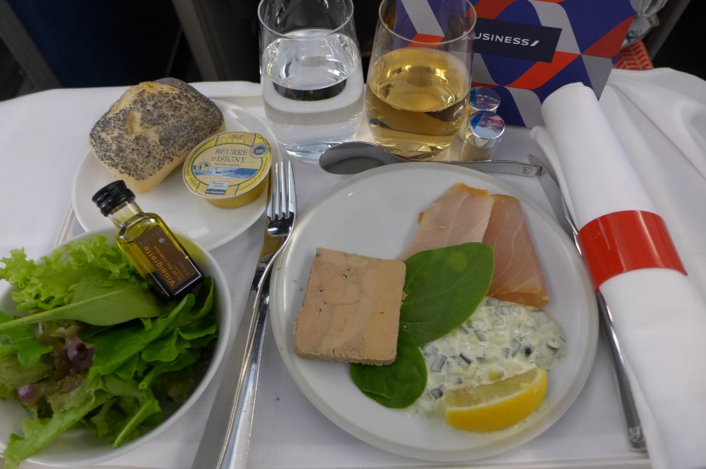 Foie gras et espadon © GP