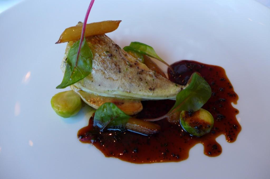 Pintade et foie gras © GP