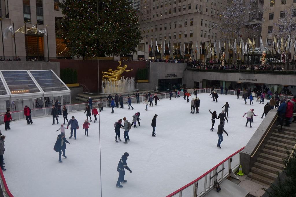 La patinoire du Rockfeller Center ©GP