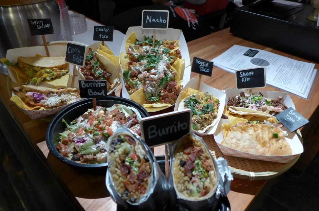 Quelques tacos © GP