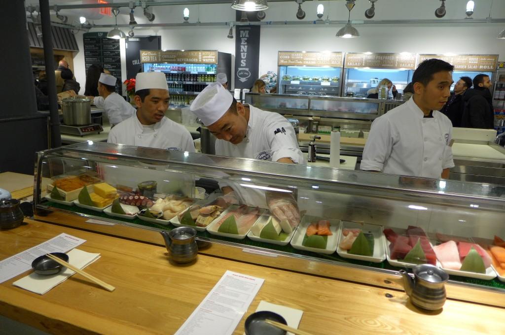 Au comptoir des sushis ©GP