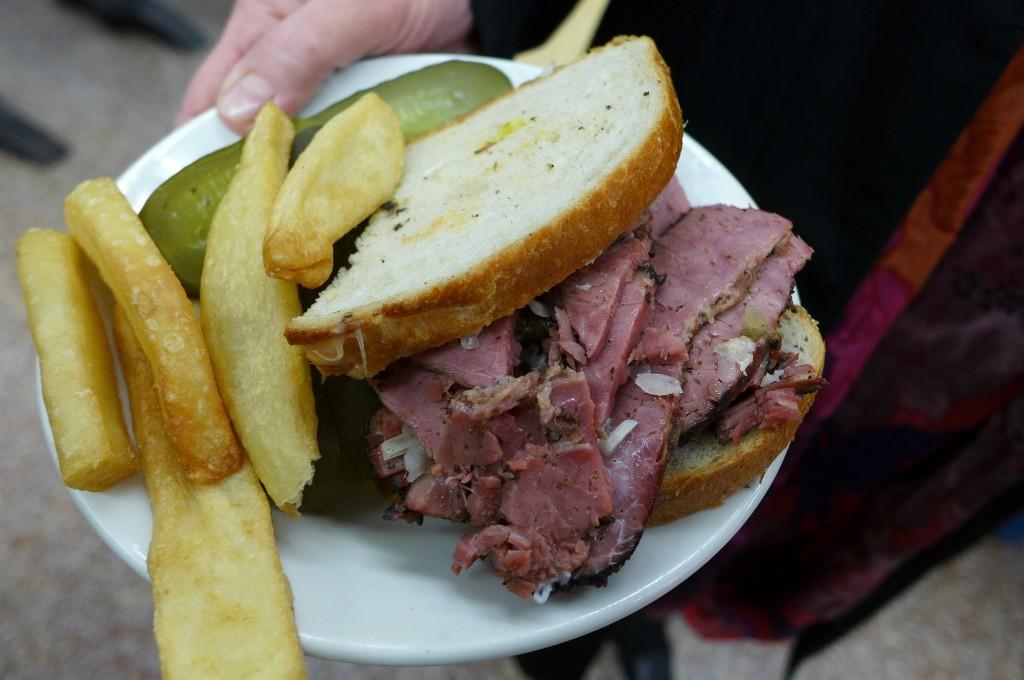 Sandwich au pastrami © GP