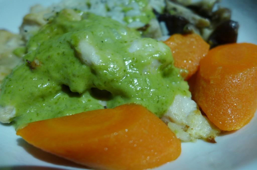 Poulet au curry vert © GP
