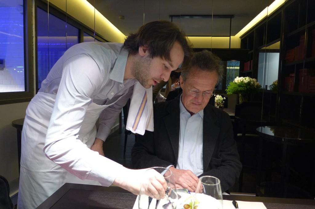 Mathieu Pacaud et Jean-Paul Kauffmann © GP
