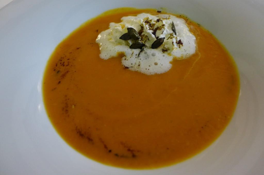 Soupe de potiron © GP