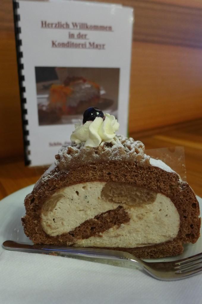 Gâteau aux marrons © GP