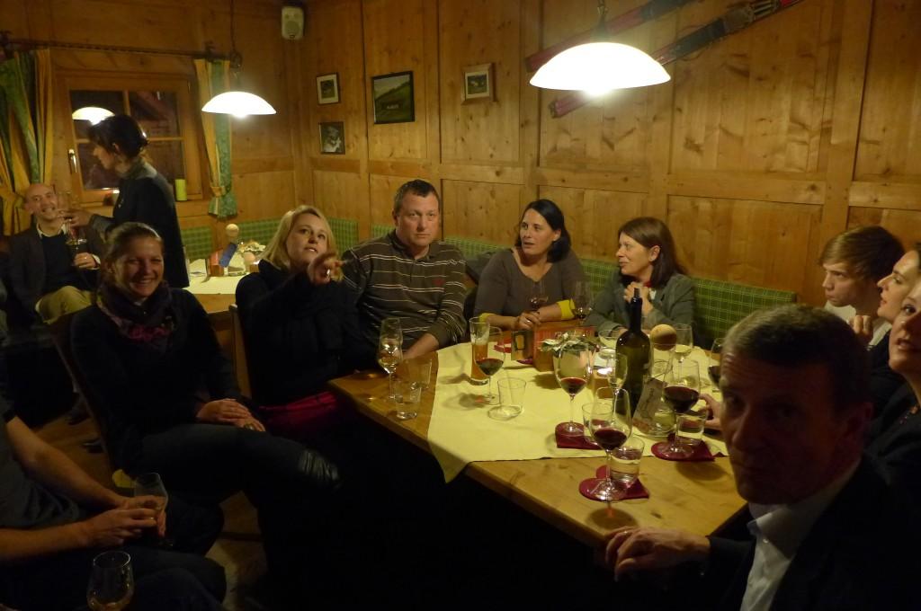 Une soirée d'amis © GP