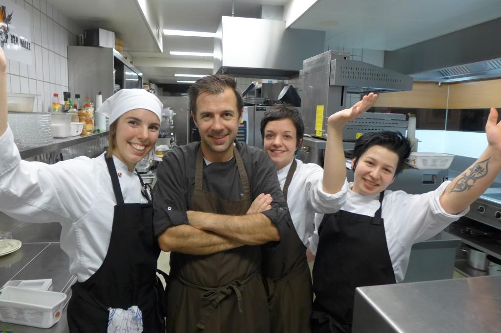Thomas Grander et son équipe © GP