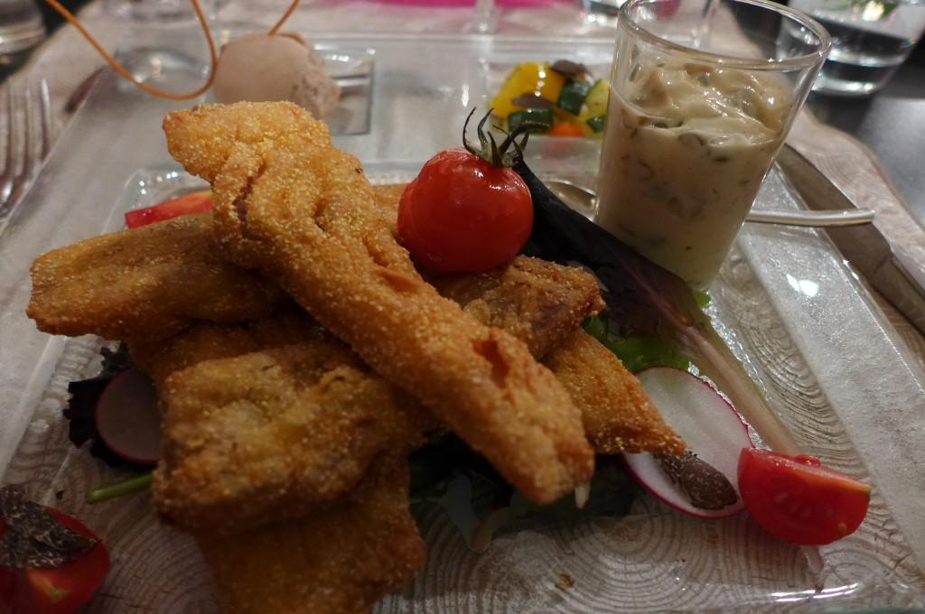 Filets de carpe frite © GP