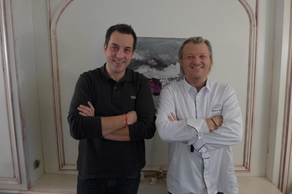 Cédric Moulot et Philippe Bohrer © GP
