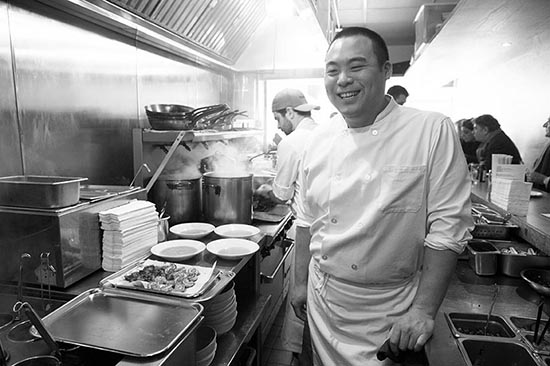 David Chang  © Maurice Rougemont