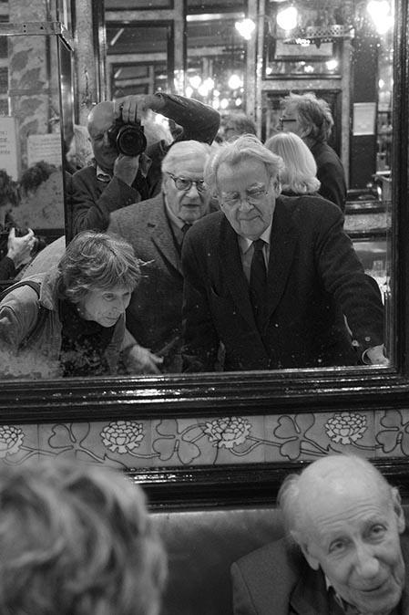 Bernard Pivot et les amis de RS © Maurice Rougemont