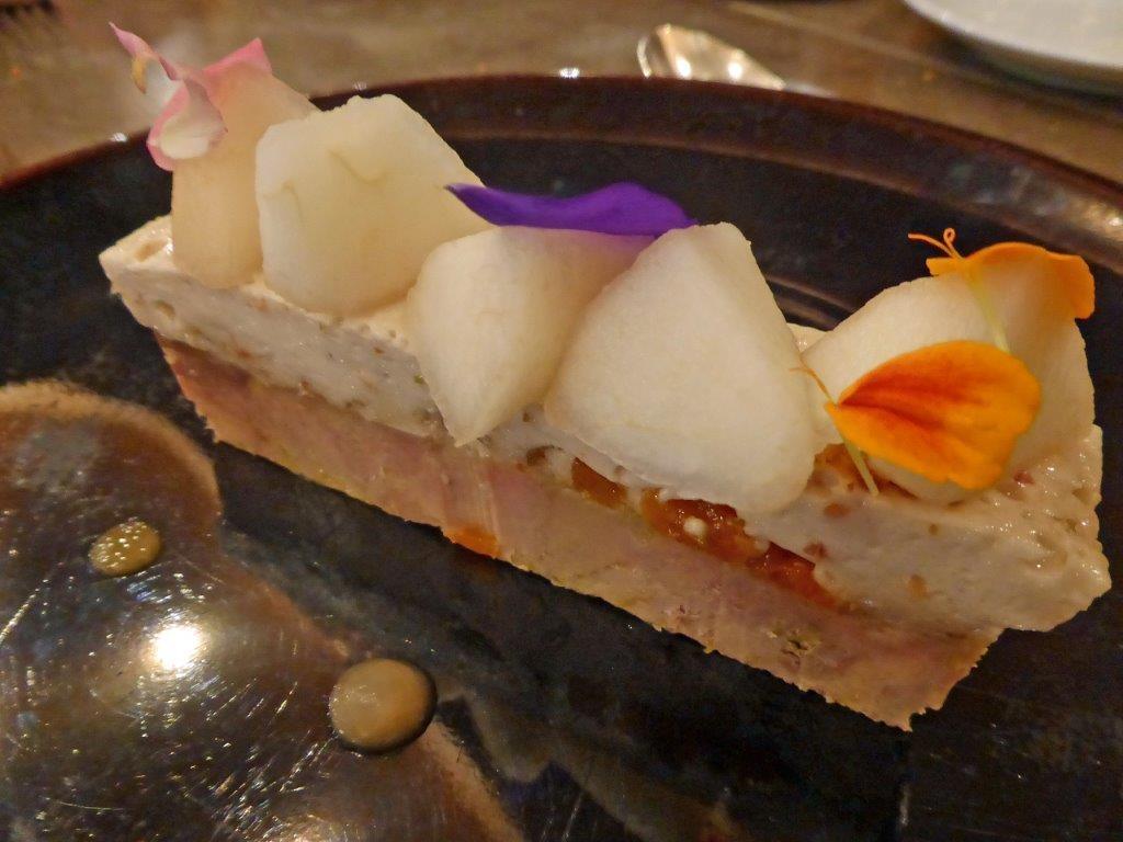 Nougat et foie gras © AA