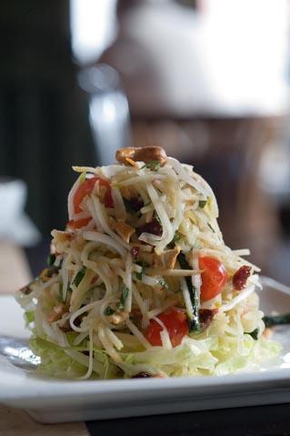 Salade de calamars ©Maurice Rougemont
