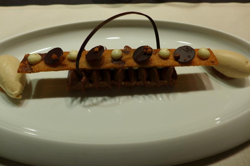 Croustillant de blé noir, ganache Bayano © GP