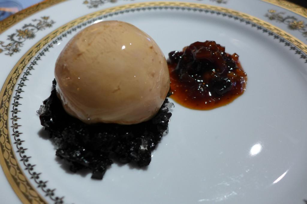 Foie gras en gelée et sa confiture © GP