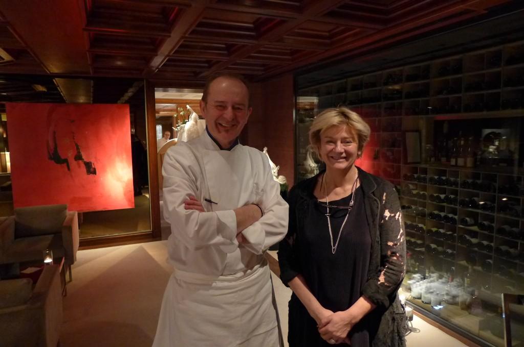 Jean-Georges et Cathy Klein, le 30/12/14 ©GP